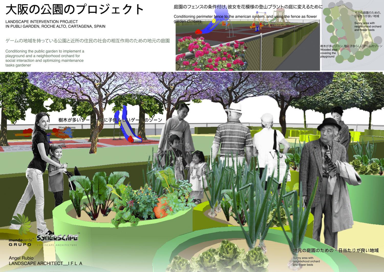 Proyecto de parque urbano ocupacional en Carta
