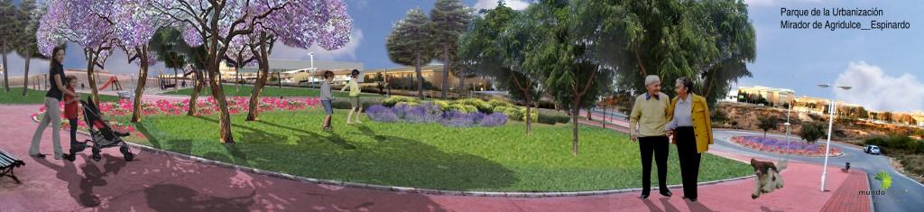 Parque en Universidad de Murcia