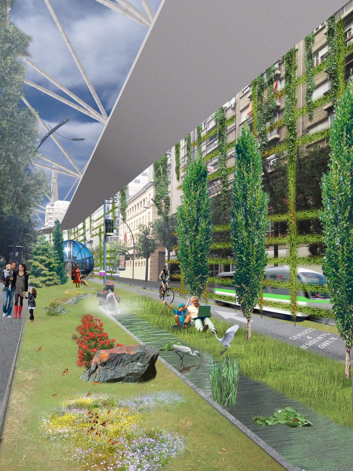 Corredores bioclimáticos urbanos