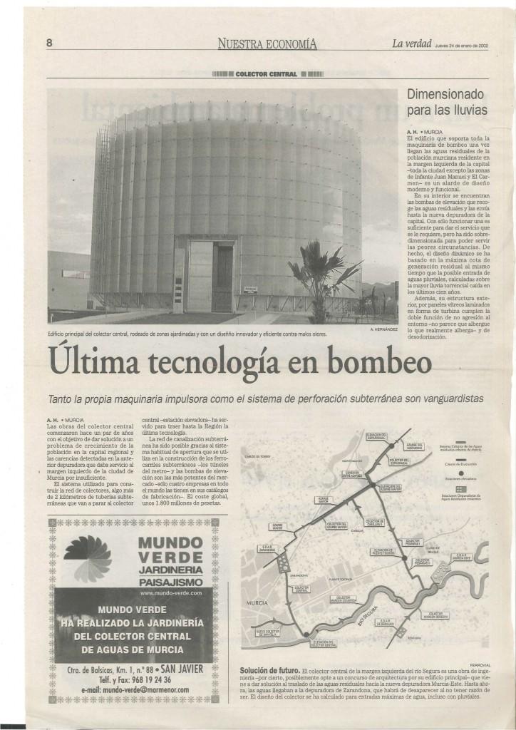 GENERAL RAINWATER COLLECTOR OF MURCIA