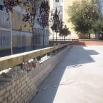 Public Parks Net in Parla, Madrid, Spain