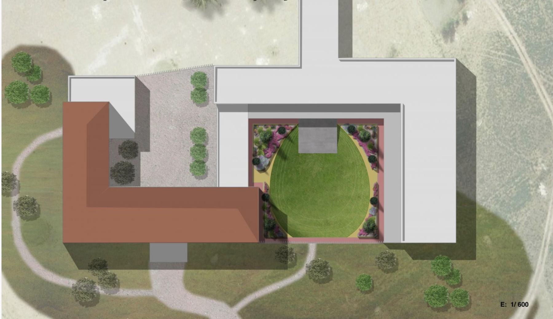 Proyecto de paisajismo corporativo en Casa Fontes, Museo de la Villa, Murcia